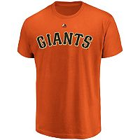 Men's Majestic San Francisco Giants Official Wordmark Tee