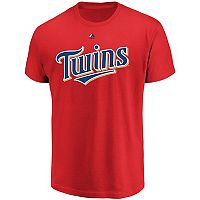 Majestic Minnesota Twins Official Wordmark Tee - Men