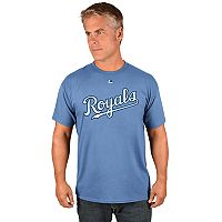 Men's Majestic Kansas City Royals Official Wordmark Tee