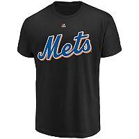 Men's Majestic New York Mets Official Wordmark Tee