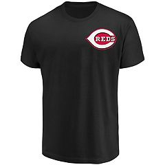Men's Majestic Cincinnati Reds Official Wordmark Tee
