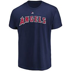 Men's Majestic Los Angeles Angels of Anaheim Official Wordmark Tee