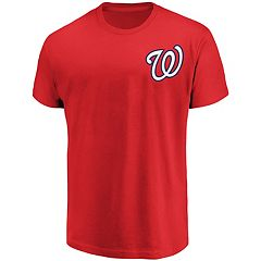 Men's Majestic Washington Nationals Official Wordmark Tee