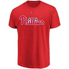 Men's Majestic Philadelphia Phillies Official Wordmark Tee