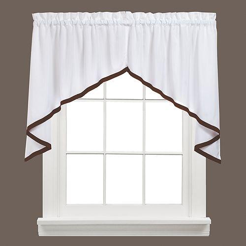 Saturday Knight, Ltd. Kate Swag Curtain Pair - 57