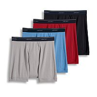 Men's Jockey 4-pk. Classic StayDry Full Rise Boxer Briefs