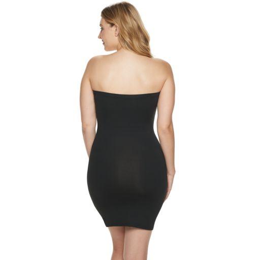 Red Hot by Spanx Sleek Slimmers Strapless Full Slip - Women's Plus - 2253P