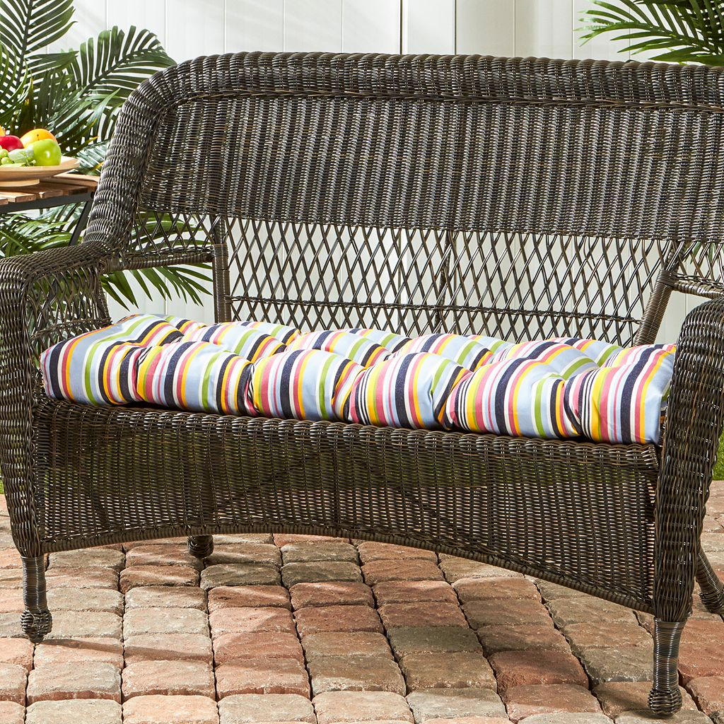 Greendale Home Fashions Sunbrella Outdoor Bench Pad