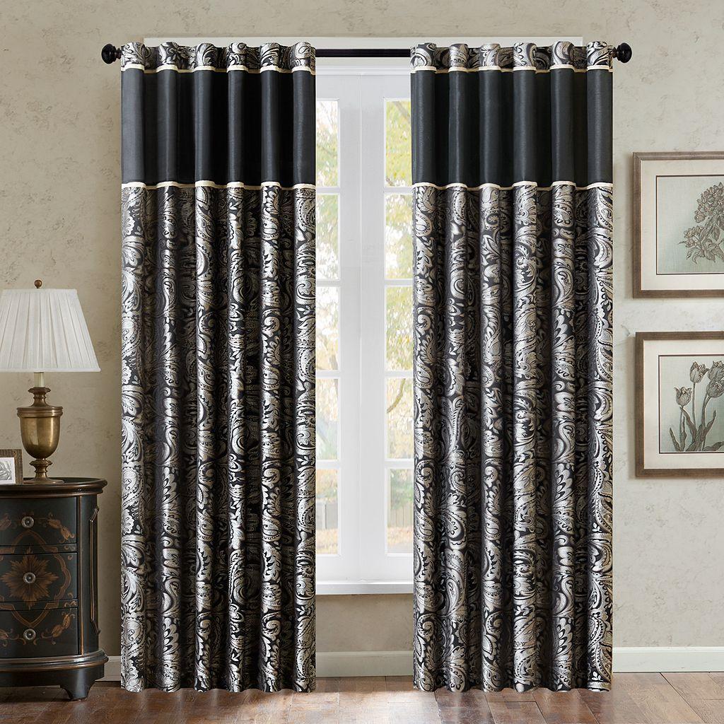 Madison Park Wellington Window Curtain Set - 50'' x 84''