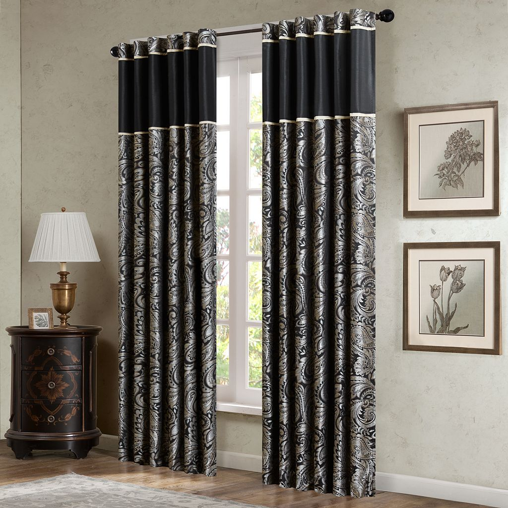 Madison Park Wellington Window Curtain Set - 50