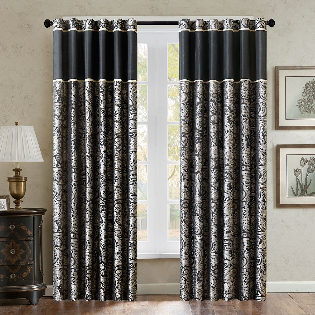 Madison Park Wellington Window Curtain Set - 50'' x 95''