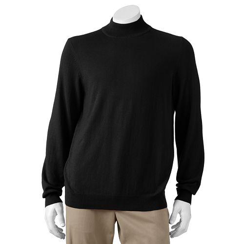 Croft & Barrow® Solid Lightweight Mockneck Sweater - Men
