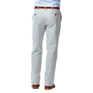 Men's Haggar® Performance Cotton Slacks: Straight-Fit Comfort Flex Waist Pants