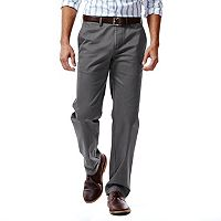 Men's Haggar® Performance Cotton Slacks: Straight-Fit Comfort Flex Waist Pants