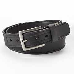 Men's Dickies Industrial Strength Leather Work Belt