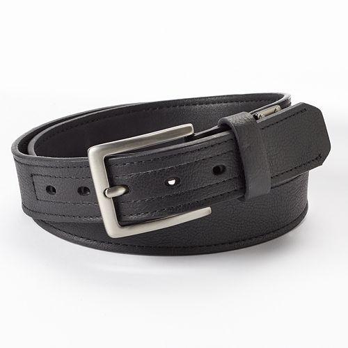 Men's Dickies Industrial Strength Leather Work Belt