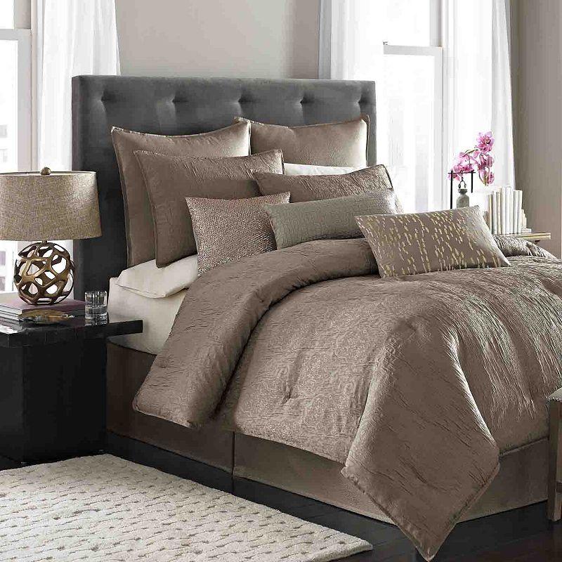 nicole miller park avenue 4 pc comforter set cal king