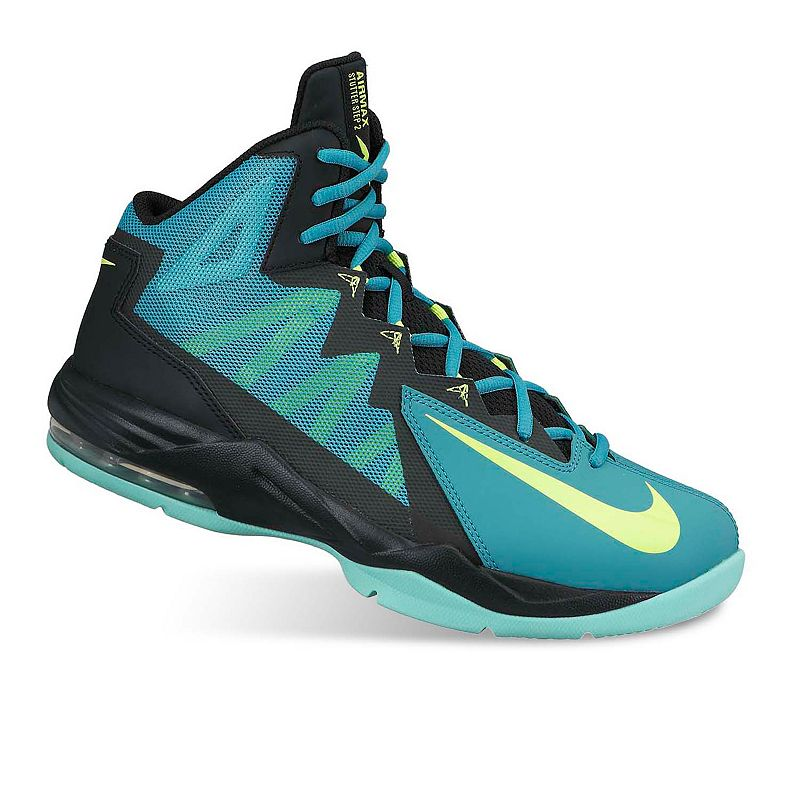 the latest dc25a d92ef Nike Green Air Max Stutter Step 2 Basketball Shoes - Men