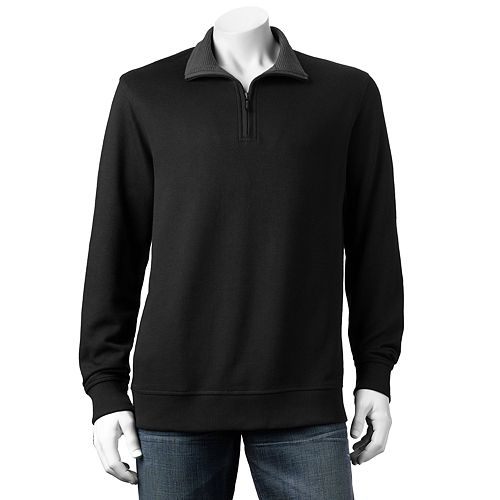 Van Heusen Classic-Fit 1/4-Zip Fleece Pullover - Men