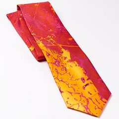 Men's Planet Freddo Abstract Tie