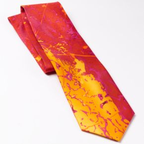 Men's Planet Freddo Abstract Tie