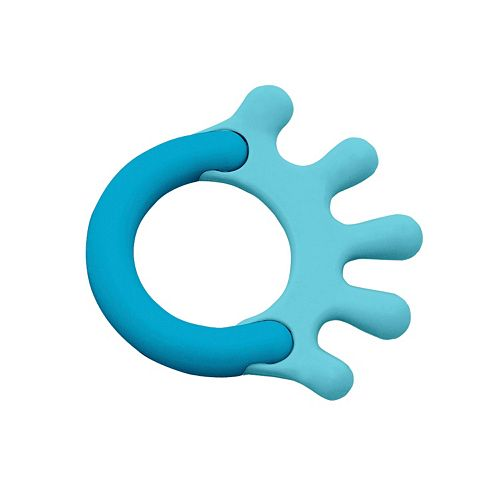 Green Sprouts by i play. Cornstarch Hand Teether