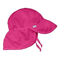 i play. Solid Flap Sun Protection Hat - Infant