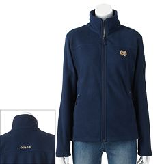 Women's Columbia Notre Dame Fighting Irish Give And Go Microfleece Jacket