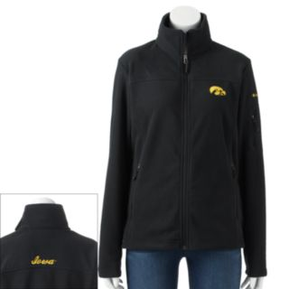 Women's Columbia Iowa Hawkeyes Give And Go Microfleece Jacket