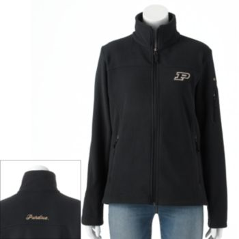 Women's Columbia Purdue Boilermakers Give And Go Microfleece Jacket