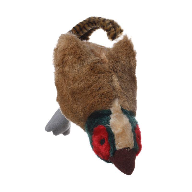 Multipet Migrators Pheasant Medium Plush Dog Toy