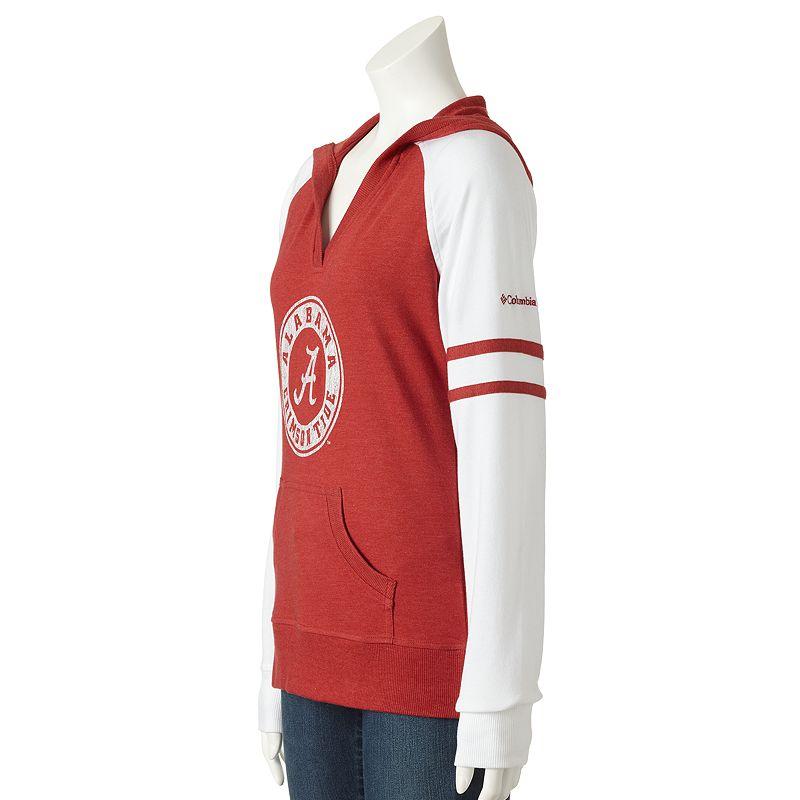 Columbia Sportswear Alabama Crimson Tide Campus Cutie Colorblock Hoodie - Women's