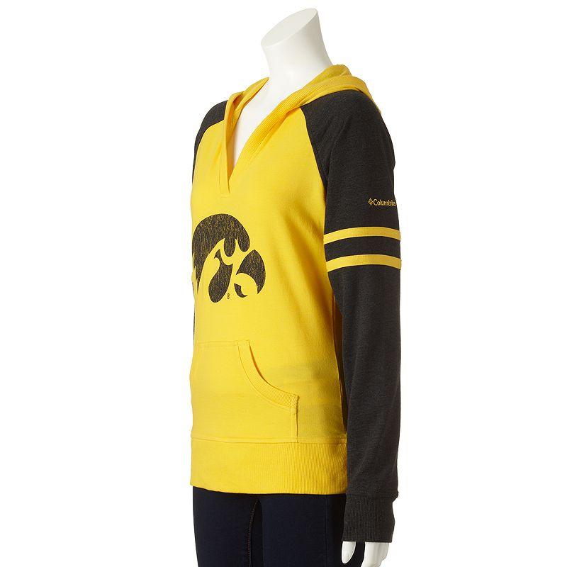 Columbia Sportswear Iowa Hawkeyes Campus Cutie Colorblock Hoodie - Women's