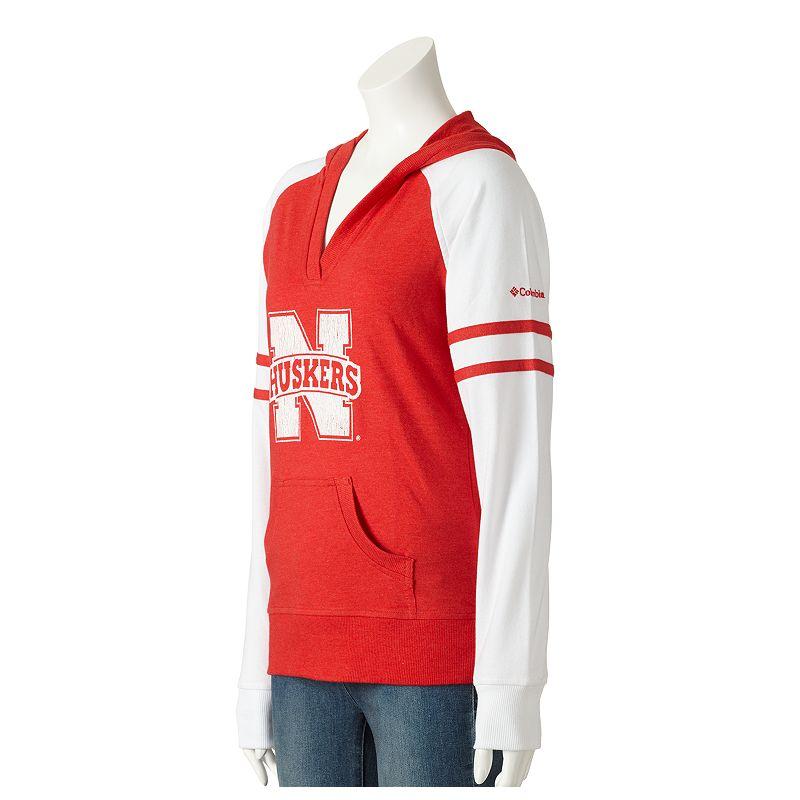 Columbia Sportswear Nebraska Cornhuskers Campus Cutie Colorblock Hoodie - Women's