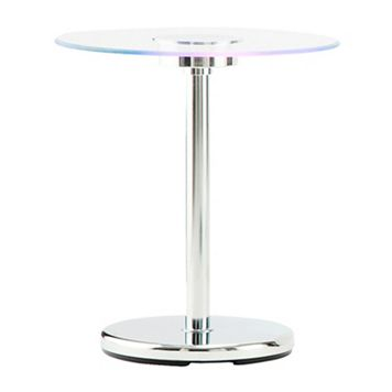 HomeVance Anders LED End Table