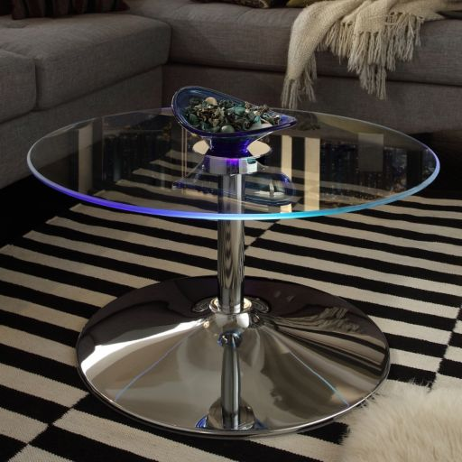 HomeVance Anders LED Coffee Table