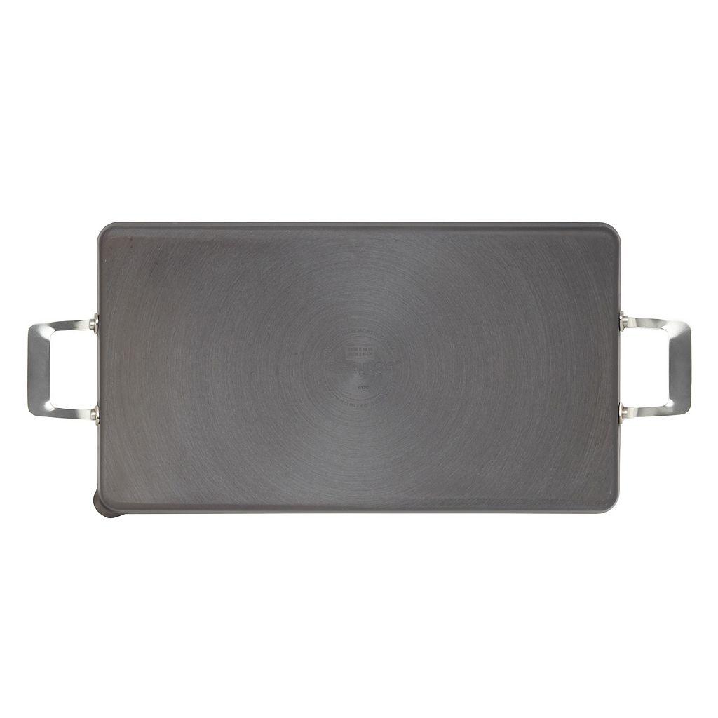 Circulon 18'' x 10'' Nonstick Hard-Anodized Double-Burner Griddle