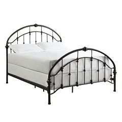 HomeVance Fiona Metal Bed Frame - Queen