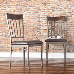 HomeVance 2 pc Kimbie Dining Chair Set