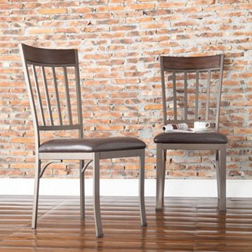 HomeVance 2-pc. Kimbie Dining Chair Set