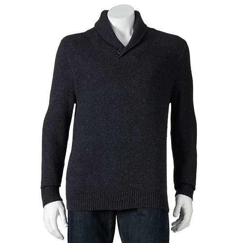 SONOMA Goods for Life™ Solid Shawl-Collar Sweater - Men