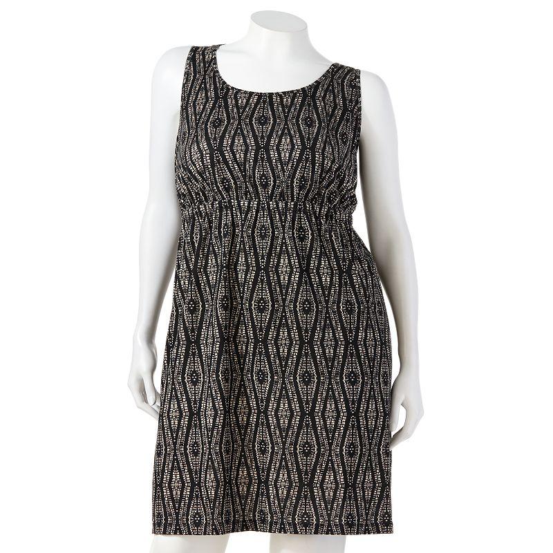 SONOMA life + style Slubbed Dress - Women's Plus