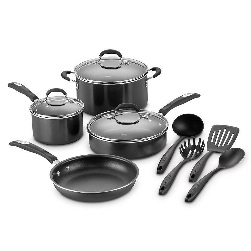 Cuisinart 11-pc. Nonstick Aluminum Cookware Set