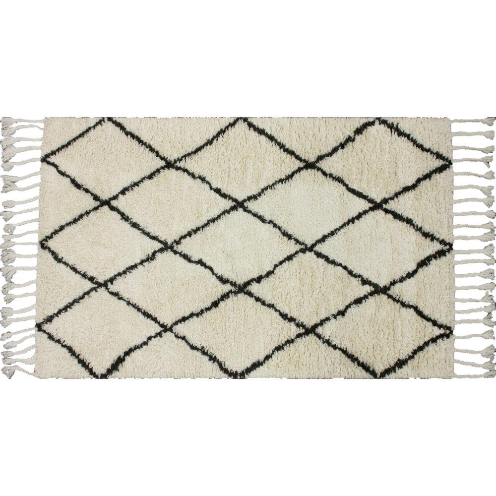 """nuLOOM Harper Moroccan Trellis Wool Rug Runner 2 8"""" x 10"""