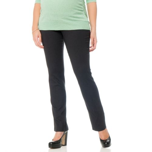 Oh Baby by Motherhood™ Secret Fit Belly Crosshatch Pants - Maternity