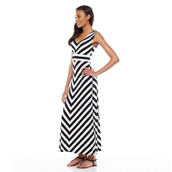 Petite Apt. 9® Striped Maxi Dress