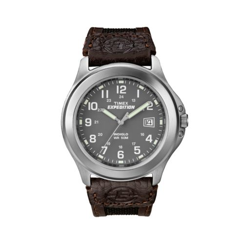 Timex Expedition Silver Tone Watch - T400919J - Men