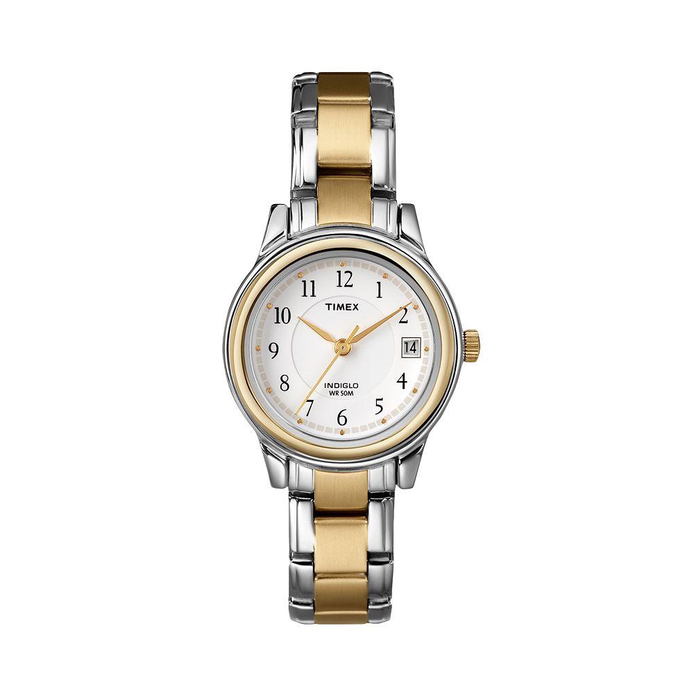Timex® Women's Two Tone Dress Watch - T257719J