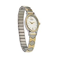 Timex Women's Two Tone Expansion Watch - T263019J
