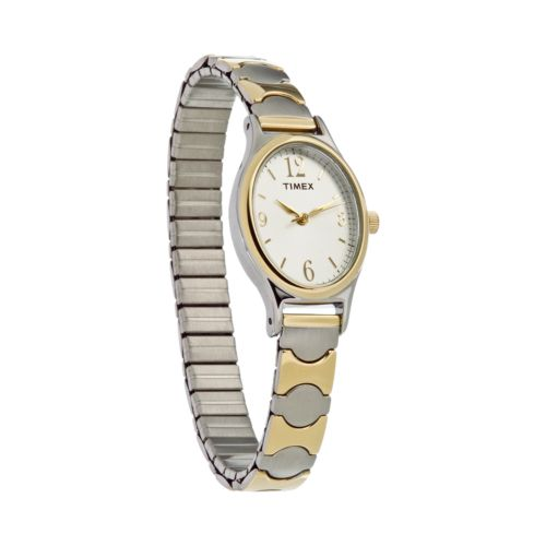 Timex Two Tone Expansion Watch - T263019J - Women